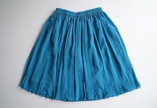 LoisCRAYON(ロイスクレヨン) 古着 リサイクル シフォンプリーツスカート