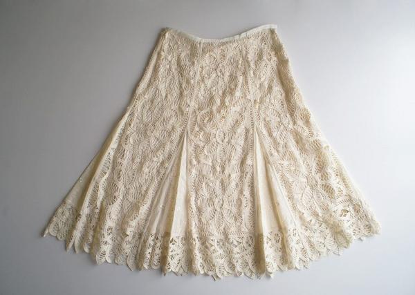 LoisCRAYON(ロイスクレヨン) 古着 リサイクル バテンレーススカート