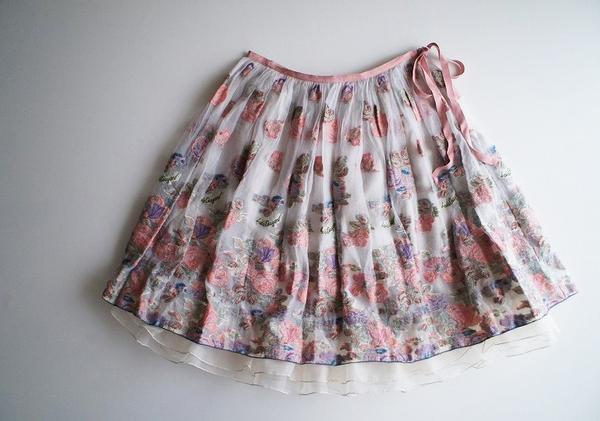 LoisCRAYON(ロイスクレヨン) 古着 リサイクル ゴブランルックジャガードスカート