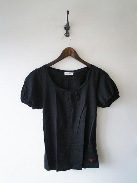 LoisCRAYON(ロイスクレヨン) 古着 リサイクル ロゴ刺繍Tシャツ