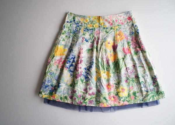 LoisCRAYON(ロイスクレヨン) 古着 リサイクル サマーガーデンスカート
