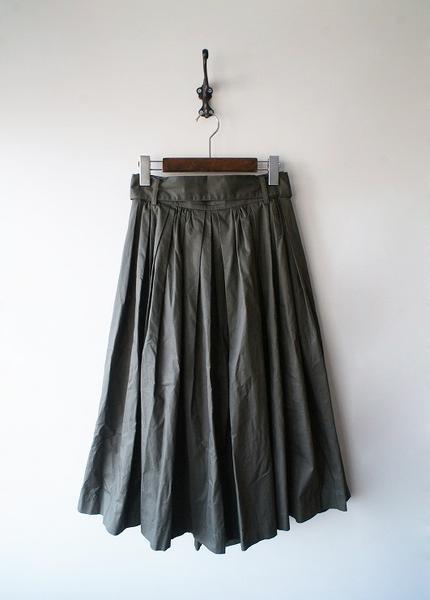 LoisCRAYON(ロイスクレヨン) 古着 リサイクル リボンベルト付ギャザースカート
