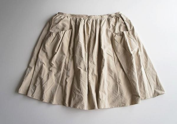 LoisCRAYON(ロイスクレヨン) 古着 リサイクル サテンボリュームスカート