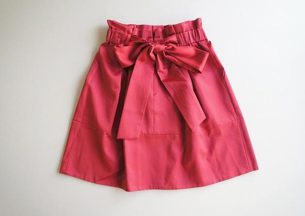 LoisCRAYON(ロイスクレヨン) 古着 リサイクル バックリボンスカート