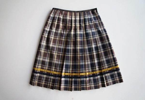 LoisCRAYON(ロイスクレヨン) 古着 リサイクル チェックプリーツスカート