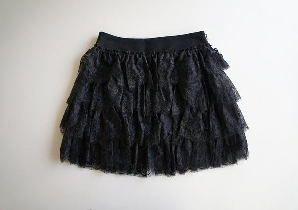 LoisCRAYON(ロイスクレヨン) 古着 リサイクル レースティアードスカート