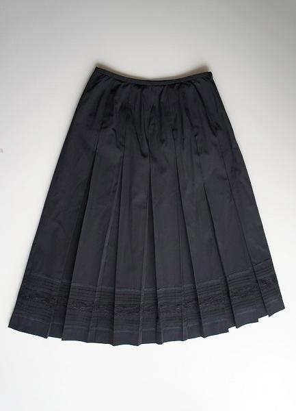 LoisCRAYON(ロイスクレヨン) 古着 リサイクル レースプリーツスカート