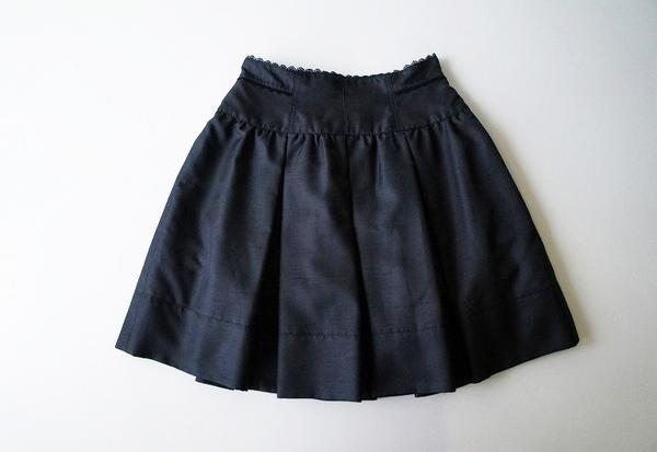 LoisCRAYON(ロイスクレヨン) 古着 リサイクル シャンタンプリーツスカート