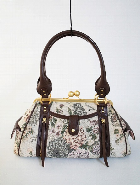 LoisCRAYON(ロイスクレヨン) 古着 リサイクル ゴブラン織り がま口 バッグ