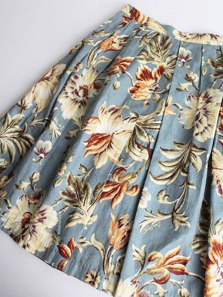 LoisCRAYON(ロイスクレヨン) 古着 リサイクル フラワー プリント プリーツ スカート