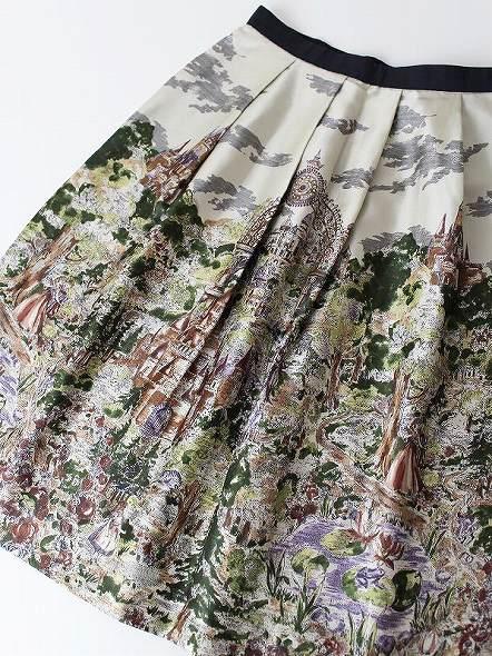 LoisCRAYON(ロイスクレヨン) 古着 リサイクル ファンタジー プリント スカート