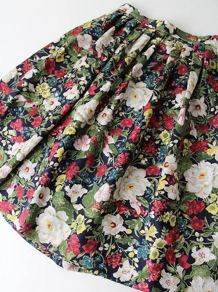 LoisCRAYON(ロイスクレヨン) 古着 リサイクル フラワー プリント フローラル スカート