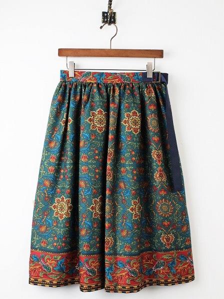 LoisCRAYON(ロイスクレヨン) 古着 リサイクル ペルシャアートプリントスカート