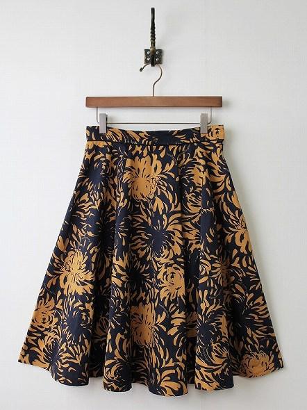 LoisCRAYON(ロイスクレヨン) 古着 リサイクル エスニックフラワープリントスカート