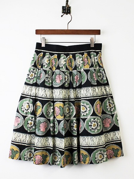 LoisCRAYON(ロイスクレヨン) BDフォーロアプリントスカート