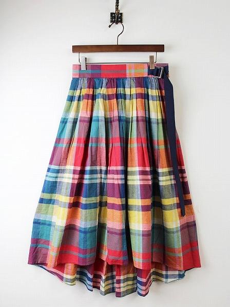 LoisCRAYON(ロイスクレヨン) 古着 リサイクル マドラスチェック スカート