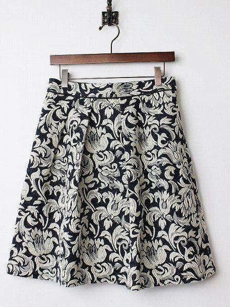LoisCRAYON(ロイスクレヨン) 古着 リサイクル オールド ジャガード フレア スカート