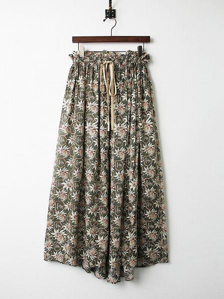 LoisCRAYON(ロイスクレヨン) 古着 リサイクル アロハ プリント スカート