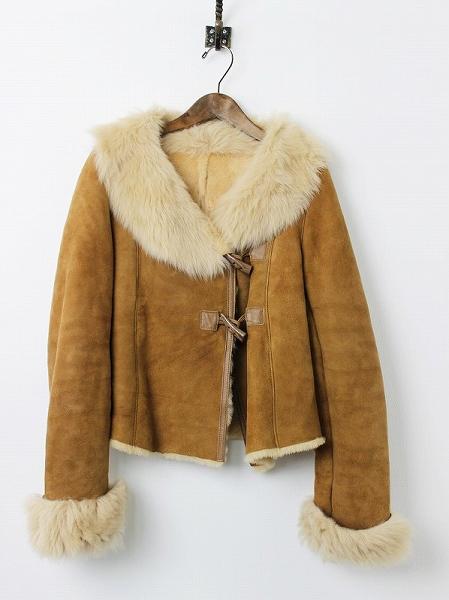 LoisCRAYON(ロイスクレヨン) 古着 リサイクル ムートン ショート コート