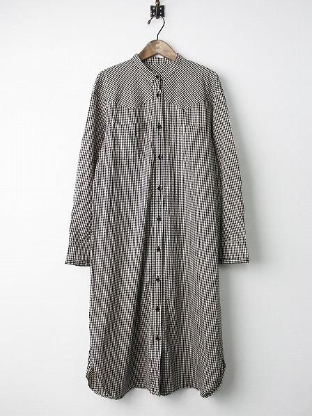 LoisCRAYON(ロイスクレヨン) ギンガム チェック シャツ ワンピース