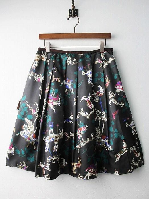 LoisCRAYON(ロイスクレヨン) 古着 リサイクル メリーゴーランド スカート
