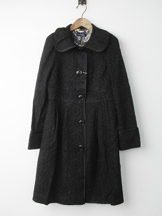 LoisCRAYON(ロイスクレヨン) 古着 リサイクル フラワー総刺繍 ロングコート
