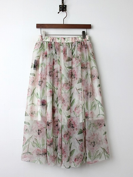 LoisCRAYON(ロイスクレヨン) 古着 リサイクル エアリー フラワー スカート