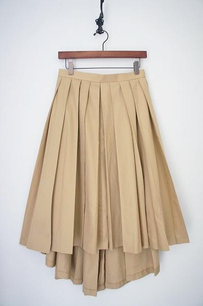 LoisCRAYON(ロイスクレヨン) フィッシュテール プリーツ スカート