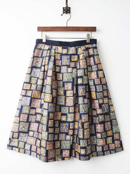 LoisCRAYON(ロイスクレヨン) 古着 リサイクル ロゴタイプ フレアスカート