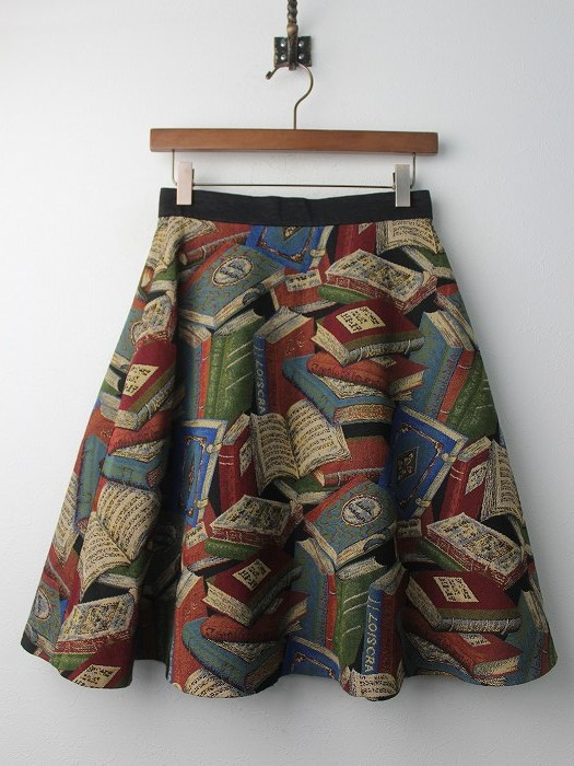 LoisCRAYON(ロイスクレヨン) 古着 リサイクル BOOK ゴブラン フレア スカート