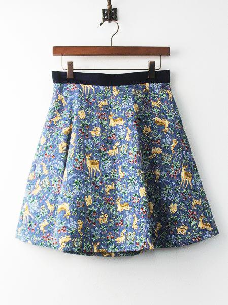 LoisCRAYON(ロイスクレヨン) 古着 リサイクル アニマル ゴブラン フレア スカート
