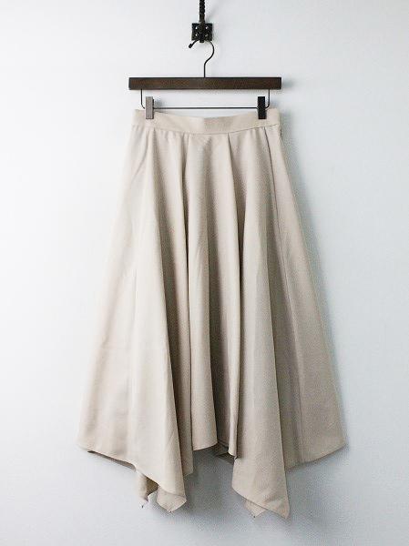 LoisCRAYON(ロイスクレヨン) 古着 リサイクル ヘムライン タック フレア スカート