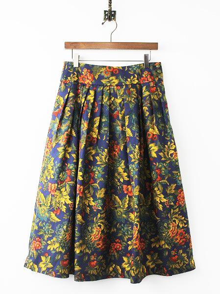 LoisCRAYON(ロイスクレヨン) 古着 リサイクル シトラス プリント スカート