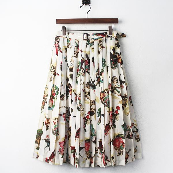 LoisCRAYON(ロイスクレヨン) DREAMIN シフォン プリーツ スカート