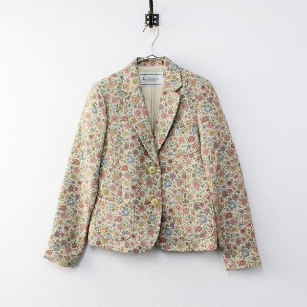 LoisCRAYON(ロイスクレヨン) 古着 リサイクル Lois CRAYON ロイスクレヨン フラワーゴブラン織り 2B シングルジャケット