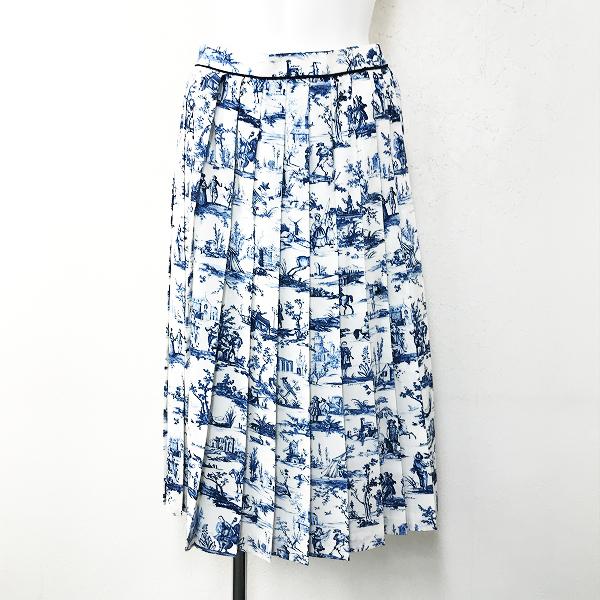 LoisCRAYON(ロイスクレヨン) 古着 リサイクル Lois CRAYON ロイスクレヨン フウケイプリーツスカート
