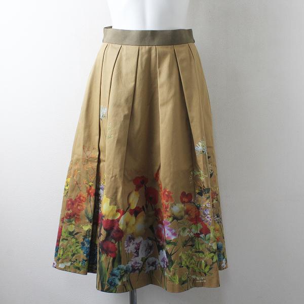 LoisCRAYON(ロイスクレヨン) 古着 リサイクル 2021SS Lois CRAYON ロイスクレヨン フラワーフィールド プリーツロングスカート